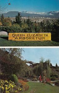 Split views , Queen Elizabeth Park , Quarry Gardens , VANCOUVER , B.C. , Ca...