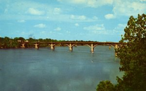 AR - Little Rock. Main Street Bridge, Arkansas River