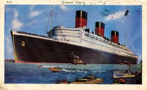 Cunard Line - RMS Queen Mary