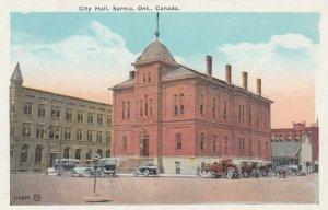 SARNIA , Ontario , 1900-10s ; City Hall