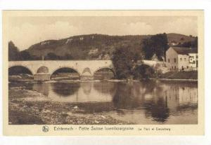 Petite Suisse Luxembourgeoise, Le Pont Et Ernzerberg, Echternach, Luxembourg,...