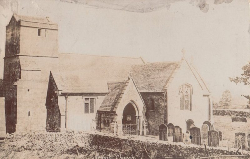 RP ; STOW on THE WOLD , UK , 1907 ; Church