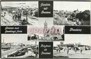 Postcard Modern Grusse aus Bredene