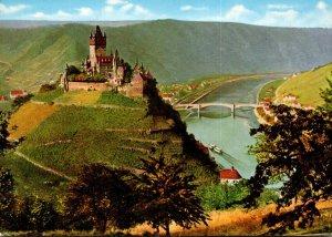 Germany Cochem an der Mosel mit Burg Cochem