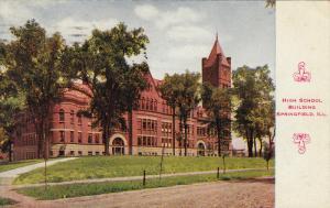 HIgh School Building Springfield, Illinois, PU-1913