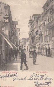CORFOU , Greece , 1904 ; Rue Nicephore
