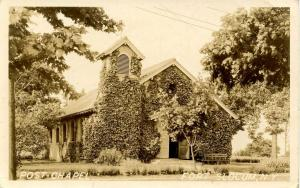 NY - Fort Slocum. Post Chapel    *RPPC