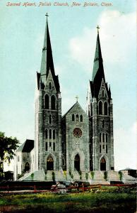 CT - New Britain. Sacred Heart, Polish Church