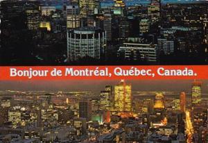 Canada Bonjour de Montreal Night View