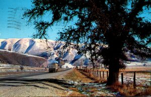 California Los Angeles The Ridge Route Highway 99 To Bakersfield 1962