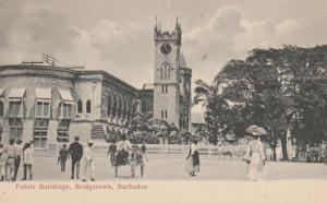 Barbados - Public Buildings at Bridgetown - DB