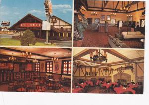 4 Views, Lobby, Dining Area and Coctail Lounge, Quality Court Chalet Motel, C...