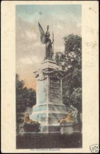 singapore, Unknown Monument Statue (1910s)