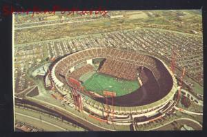 SAN FRANCISCO 49ers FOOTBALL STADIUM CANDLESTICK PARK POSTCARD GIANTS