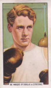 Marquis Of Douglas & Clydesdale Boxing Mount Everest 1930s Cigarette Card