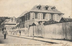 CASTRIES , ST. KITTS , 00-10s ; Convent & College , Micond Street