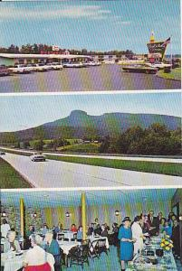 3Views, Holiday Inn, Restaurant, Pilot Mountain, North Carolina, 1940-1960s