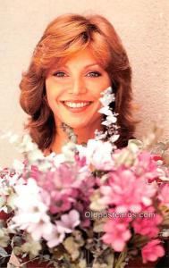 Victoria Principal Movie Star Actor Actress Film Star Postcard, Old Vintage A...
