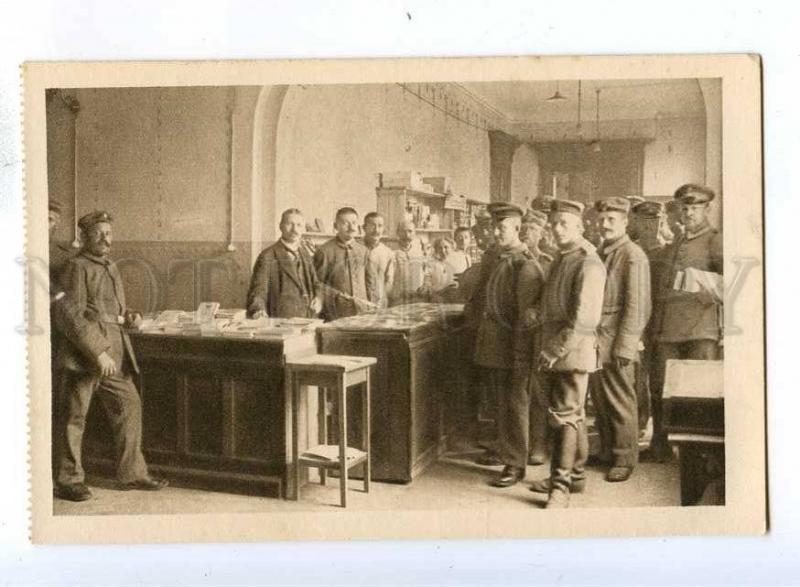 192612 WWI GERMANY military Hospital Vintage postcard