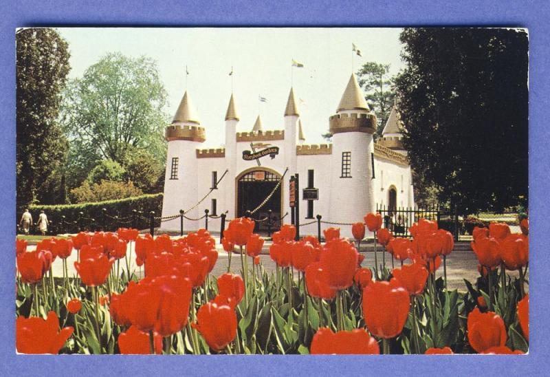 London, Ontario, Canada Postcard, Storybook Gardens/Castle