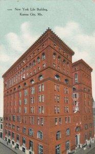 KANSAS CITY , Missouri ,1910 ; New York Life Building
