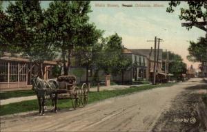 Orlenas Cape Cod MA Main St. c1910 Postcard