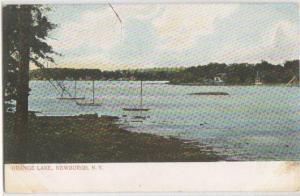 Orange Lake Newburgh NY -undivided back-