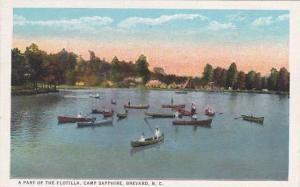 North Carolina Brevard Part Of The Flotilla Camp Sapphire Canoeing