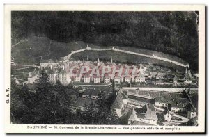 Old Postcard Convent of the Grande Chartreuse General view and reduced full