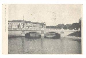 Bridge, Kungsbron i. Goteborg, Bohuslän, Sweden, 1910-1920s