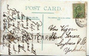 Genealogy Postcard - Wiggan - Shawl Terrace - Leyburn - Yorkshire - Ref 9059A