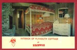 PLYMOUTH COTTAGE AT BIRCHWOOD OVER LOOKING EAGLE LAKE. E. STROUDSBURG, PA.