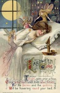 Artist Samuel Schmucker Halloween Postcard Postcards