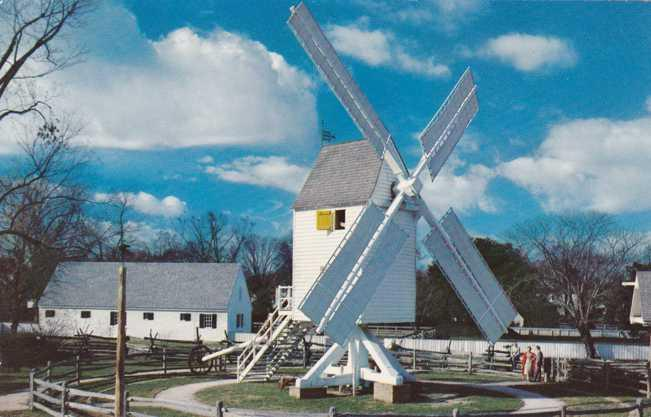Robertson's Windmill - Williamsburg VA, Virginia