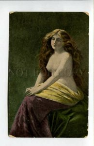 3156240 Semi-Nude Belle LONG HAIR by ASTI vintage Russia Color