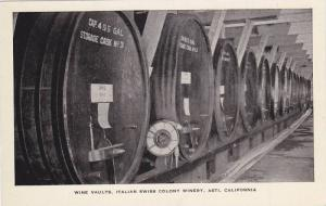 Wine Vaults,  Italian Swiss Colony Winery,  Asti,  California,  40-60s