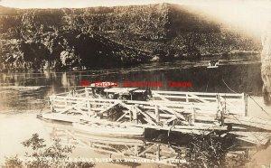 ID, Shoshone Falls, Idaho, RPPC, Snake River Ferry, Photo No 326