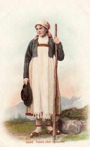 Tessin (Val Verzasca) , Switzerland , 00-10s ; Woman