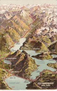 Switzerland Gotthardbahn Noerdliche Seite