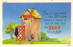 Outhouse Comic Unused
