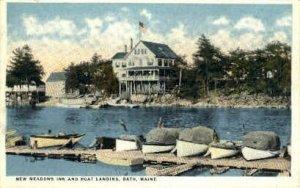 New Meadows Inn in Bath, Maine