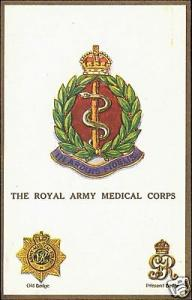 UK Military Badges, The Royal Army Medical Corps 10s