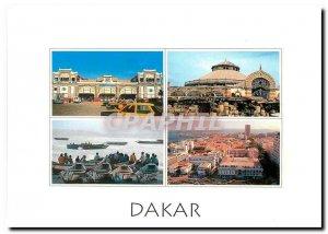 Modern Postcard Dakar Republic of Senegal The station's former running Kermel