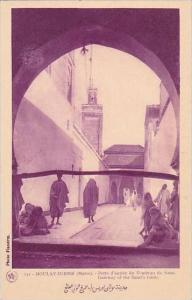 Morocco Moulay-Idriss Gateway Of The Saint's Tomb 1920s-30s
