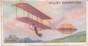 Cigarette Cards Wills AVIATION No 32 Chanute, 1895