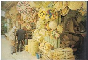 Postcard - The Market In The Old City - Jerusalem Israel