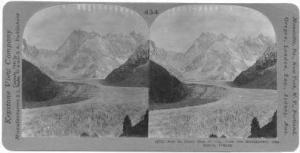 SV: Mer De Glace, From Montanvert, Chamonix, France, 1900-10s