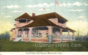 Weed Park Club House Muscatine IA Unused