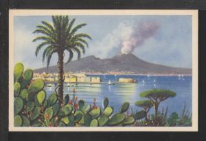 Mount Vesuvios,Volcano,Naples,Italy Postcard