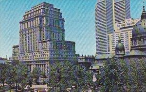 Canada Quebec Montreal Dominion Square